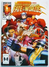 MARVEL VERSUS CAPCOM! FATE OF TWO WORLDS #3 RARE 2010 MARVEL VIDEO GAME DEADPOOL