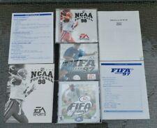 NCAA Football 98, FIFA Soccer 97 & 2000 PC