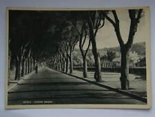 ACQUI Corso Bagni vecchia cartolina