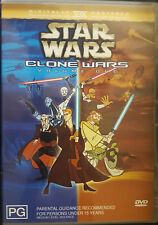 STAR WARS ANIMATED RARE DELETED CLONE WARS VOLUME 1 ONE DVD TV SERIES CARTOON