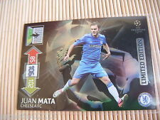 Panini Adrenalyn XL Champions League 2012/2013 Juan Mata - Chelsea Fc