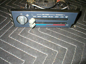 1985 92 FIREBIRD T/A HEATER AC CONTROL + TUBES & CABLE 86 87 88 89 90 91 GM OEM