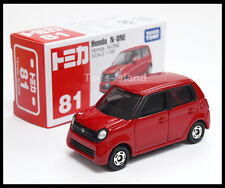 TOMICA #81 HONDA N-ONE 1/58 TOMY 2013 November New Model Red Diecast Car GIFT