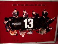 Cinema Poster: OCEAN'S 13 2007 (Advance Quad) George Clooney Brad Pitt