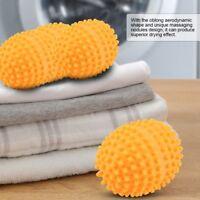 4Pcs Reusable Laundry Washing Machine Dryer Balls Drying Fabric Softener