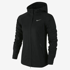 Nike Shield City Flash Running Jacket Black/Reflect Silver 745529-010 Women's M
