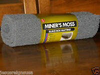 "Gray Miner's Moss Sluice Box Matting 12"" x 36"" x 10mm Prospecting Gold Panning"