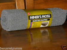 "Gray Miner's Moss Sluice Box Matting 12"" x 36"" x 10mm Prospecting Gold Panning"
