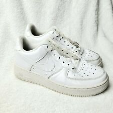 Nike Air Force 1 Low GS Glossy Finish 314192-168 Size 6Y 7.5 Women Free Shipping