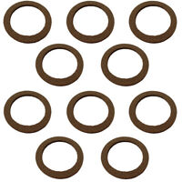 Set of (10)- Cork Sediment Bowl Gaskets for Gas / Fuel Fits Ford 2N 8N 9N NAA
