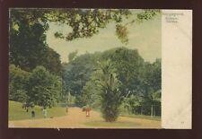 SINGAPORE Botanic Gardens u/b PPC c1902