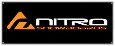 "Nitro Snowboards Snowboard Car Bumper Window Sticker Decal 7""X2"""