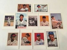 1989 Bowman Insert Reprint Set 11 Mickey Mantle & Willie Mays 1951 Bowman RC