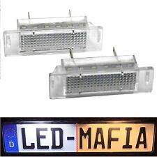2x Opel Astra F Calibra - LED License Plate Light Module - 6000K - Fauxhall