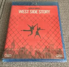 WEST SIDE STORY - 1 BLURAY ZONAS A B C CON EXTRAS - 153 MIN NEW & SEALED NUEVA