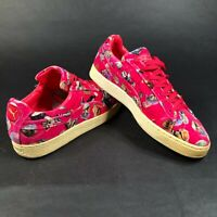 RARE Puma Sneakers Classic House of Hackney Pink Suede Shoes Mens 10
