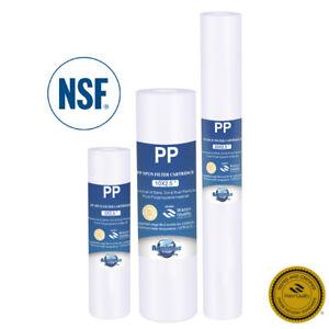 Sedimentfilter Partikelfilter Wasserfilter Vorfilter 5 Zoll 10 Zoll 20 Zoll NSF