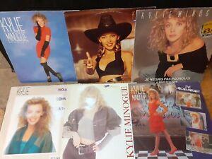 "Kylie Minogue 12"" Vinyl Singles Bundle X6"