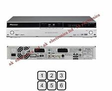 Pioneer Region Free DVR-440HX-S DVD Freeview PVR 80GB HDD Recorder Pause Live