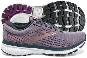 Brooks Ghost 13 Women's Shoe Lavender/Ombre/Metallic multiple sizes, New In Box