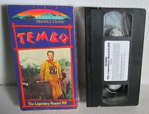 Tembo VHS Video Tape Howard Hill Africa Hunting Movie RARE Cult Gore Stoney Wolf