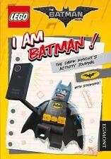 The LEGO® BATMAN MOVIE: I Am Batman! The Dark Knight's Activity Journal (Lego®,
