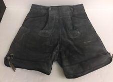 Vintage Haelson Leather Shorts Germany Size 29 Oktoberfest