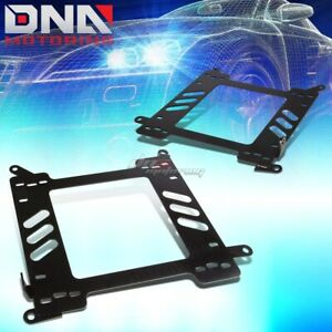 FOR 2000-2007 FORD FOCUS MARK 1 RACIING SEAT MOUNT BRACKET ADAPTER SEATBASE PAIR