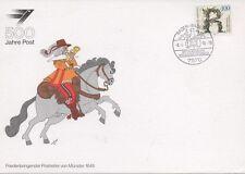 Briefmarken aus der BRD (1990-1999) mit Sonderstempel für Post, Kommunikation