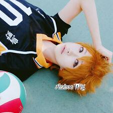 Haikyuu Karasuno High School Volleyball Club Hinata Shouyou Cosplay Anime Wig