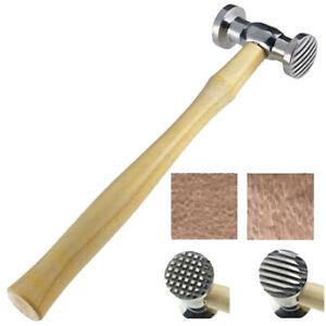Texturing Hammer Metal Surface Design Hammering Checkered & Strips Patterns