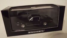 1/43 Minichamps Ford Mustang (1968) black diecast RARE! Paul's Model Art!