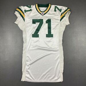 100% Authentic Josh Sitton Reebok 2005 Green Bay Packers Game Jersey 48