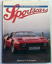 BOOK The Encyclopedia of Sportscars 1985 BUGATTI FERRARI FORD MAZDA MG DELAHAYE