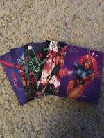 1994 Fleer Flair Marvel Trading Card Lot