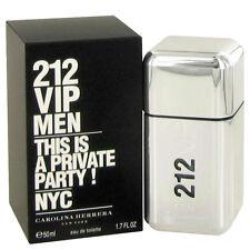 212 VIP by Carolina Herrera 1.7oz/50ml Edt Spray For Men New In Box