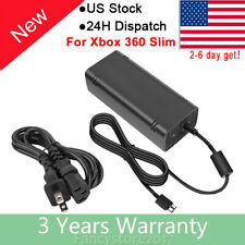 New for Microsoft Xbox 360 Slim 360 S Power Supply Cord AC Adapter Power Charger