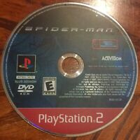 Spider-Man (Sony PlayStation 2, PS2, 2002) Game Disc Only Clean & Polished E