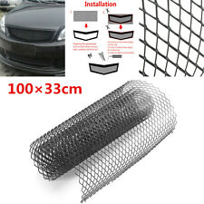 "40""x13"" Aluminium Car Body Bumper Hood Vent Radiator Grille Rhombus Mesh Grill"