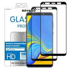 Samsung A9 (2018) A920F - Film Protection Tempered Glass Screen (X 2) - Black