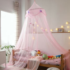 UK_ Kids Star Bed Butterfly Hanging Mosquito Net Tulle Baby Dome Canopy Curtain