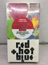 SEALED: RED HOT + BLUE VHS Tape U2 David Byrne Neneh Cherry Tom Waits