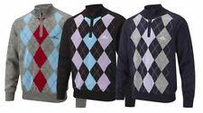 Wool Blend Long Sleeve Regular Golf Shirts & Tops for Men