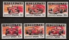 GIBRALTAR SG1113/18 2004 FERRARI MNH