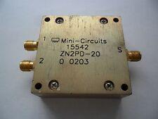 Mini-Circuits ZN2PD-20 Coaxial Power Splitter/Combiner 2-Way 750- 2000MHz 5W RF