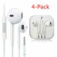 4 Pack  Headphones Earphones With Remote & Mic For Apple iPhone 6S 6 5 5S 4S