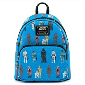 Loungefly Star Wars - Action Figures Mini Backpack