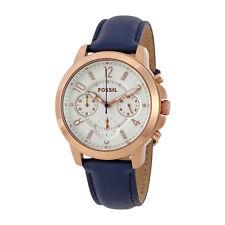 Fossil Gwynn Chronograph White Dial Ladies Watch ES4040