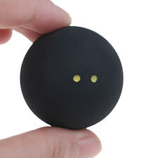 Round Two Yellow Dots Bounce Squash Ball Low Speed Tool Training Durable Rubber