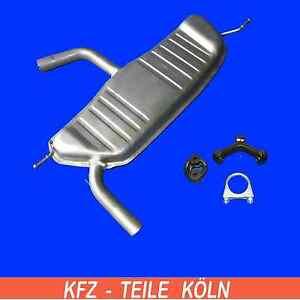 Seat - Altea / Toledo III / León - 1.6 - Silencieux + Kit